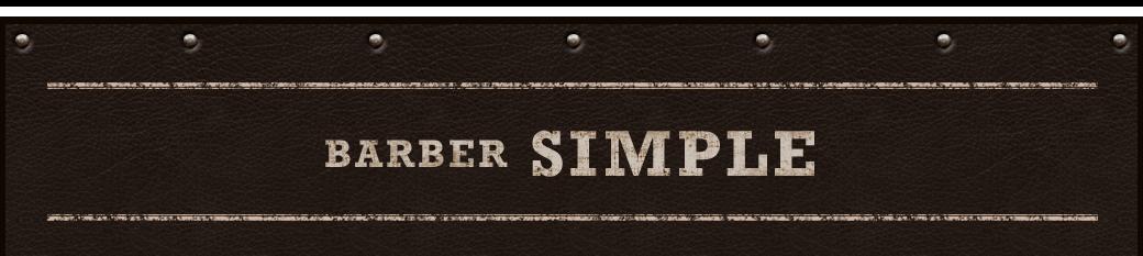 BARBER SIMPLE
